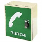 Storacall Small Telephone Cabinet Green