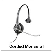 Corded Monaural