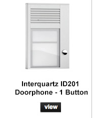 Interquartz ID201 Doorphone - 1 Button