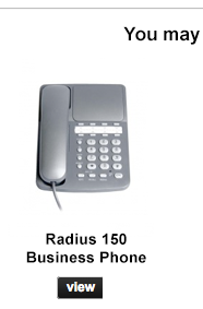 Radius 150 Business Phone