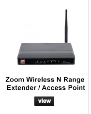 Zoom wireless n range extender / access point