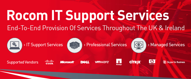 Rocom IT Services Landing Page Banner