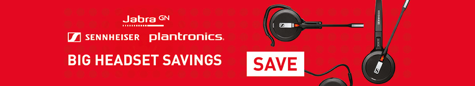 Latest Headset Offers from Plantronics, Sennheiser and Jabra